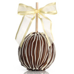 Triple Chocolate Caramel Apple