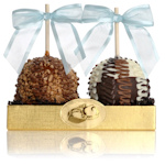 Caramel Chocolate Apples Gift Set