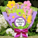 Mother's Day Flowers & Butterflies Cookie Bouquet