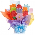Lovely Flowers Cookie Bouquet