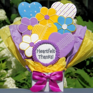 Heartfelt Thanks Cookie Bouquet imagerjs