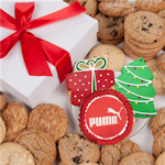 Corporate Christmas Gourmet Logo Cookie Gift Box
