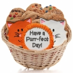 Cat Cookie Gift Basket
