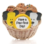 Dog Cookie Gift Basket