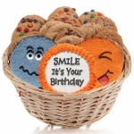 Cookie Gift - Funny Faces Basket