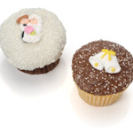 Gourmet Wedding Belgian Chocolate Cupcakes (6 Pack)