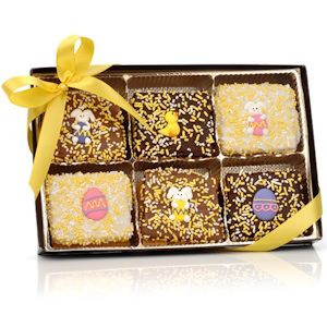 Chocolate Dipped Easter Graham Gift imagerjs