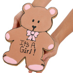 Welcome Baby Bear Giant Sugar Cookie Cake