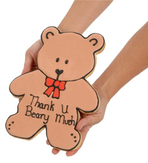 Thank You Beary Much Sugar Cookie Cake imagerjs