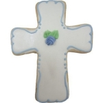 Iced Sugar Cookie Christening Favors