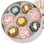 New Baby Chocolate Covered Oreo Gift Tin