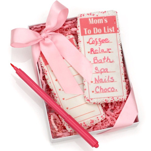 Mom's To Do List Edible Graham Cookies & Pen imagerjs