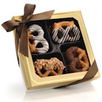 Classic Chocolate Pretzel Twists - Box of 12