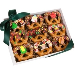 Thanksgiving Pretzel Twist Gift Box