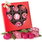 Rose Krispies and Chocolate Oreo Valentine Gift