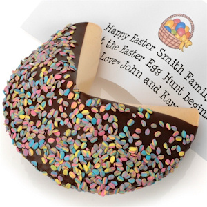 Giant Easter Egg Confetti Fortune Cookie imagerjs