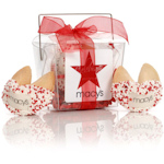 Custom Fortune Cookie Take Out Pail - Box of 2