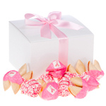 Pink Ribbon Fortune Cookie Gift Box