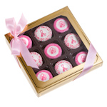 Pink Ribbon Oreo Cookie Box