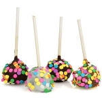 Confetti Chocolate Brownie Stix Favors