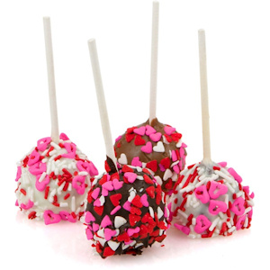 Heart Sprinkle Brownie Stix Favors imagerjs