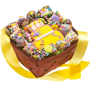 Happy Birthday Gift Basket - 19 Pieces imagerjs