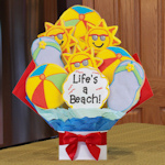 Life's a Beach Summer Cookie Bouquet
