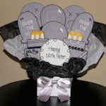 Over the Hill Iced Cookie Bouquet