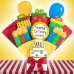 Happy Birthday Gourmet Cookie Bouquet
