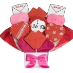 Sealed with a Kiss Cookie Bouquet