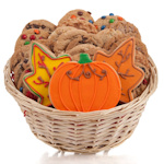 Autumn Cookie Gift Basket