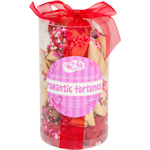 Valentine's Fortune Cookie Cylinder - Set of 24