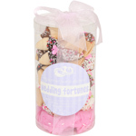 Wedding Themed Fortune Cookie Cylinder - Set of 24