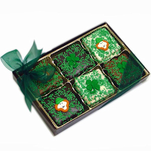 St. Patrick's Day Chocolate Covered Graham Box imagerjs