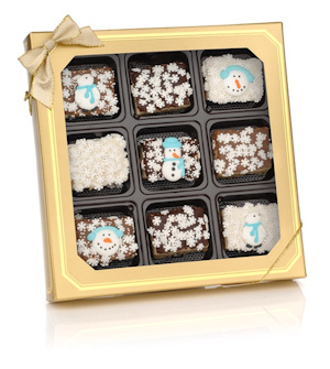 Chocolate Dipped Winter Mini Krispies Box imagerjs