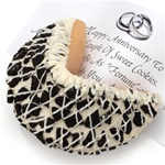 Cookies & Cream Jumbo Fortune Cookie