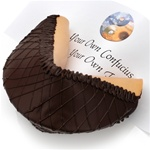 Dark Chocolate Giant Fortune Cookie