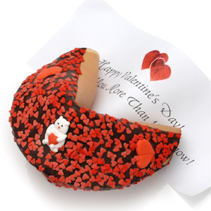 Be My Valentine Giant Gourmet Fortune Cookie imagerjs
