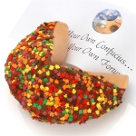 Autumn Leaves Giant Gourmet Fortune Cookie