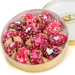 Romantic Valentine Wheel of Fortune Cookies