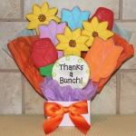 Thanks a Bunch Iced Flower Cookie Bouquet