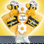 Thanks a Buzz-illion Iced Cookie Bouquet
