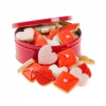 Valentine's Mini Sugar Cookie Tin of 20