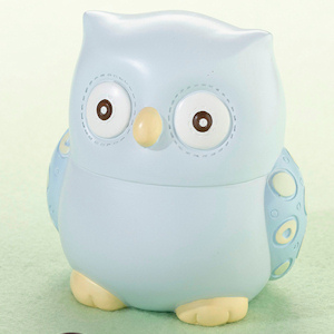 Little Blue Owl Bank Gift imagerjs