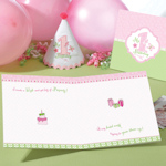 First Birthday Pink Keepsake Board Book