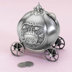 Fairytale Coach Pewter Bank