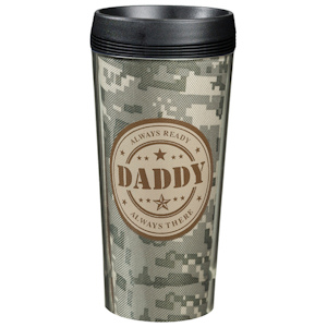 Camouflage Daddy Travel Cup imagerjs
