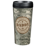 Camouflage Daddy Travel Cup