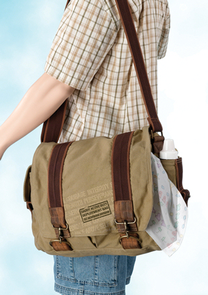 New Daddy Military Design Diaper Bag imagerjs