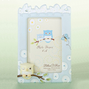 Blue Owl 4 x 6 Baby Picture Frame imagerjs
